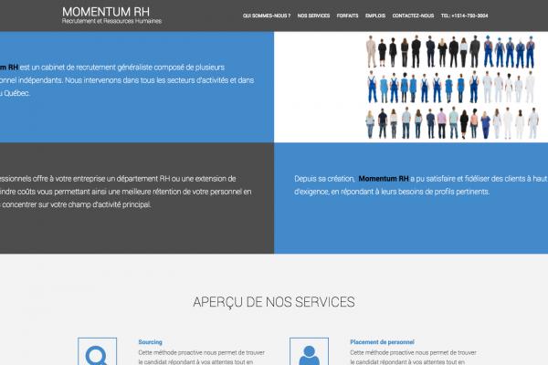 Agence web - Marketing digital - création site web - Protai-in | momentumrh