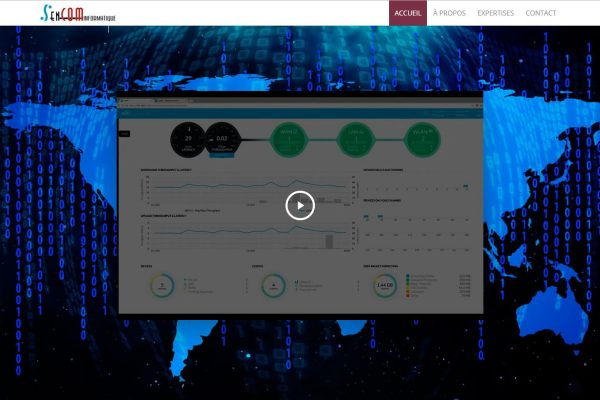 Agence web - Marketing digital - création site web - Protai-in - sencom