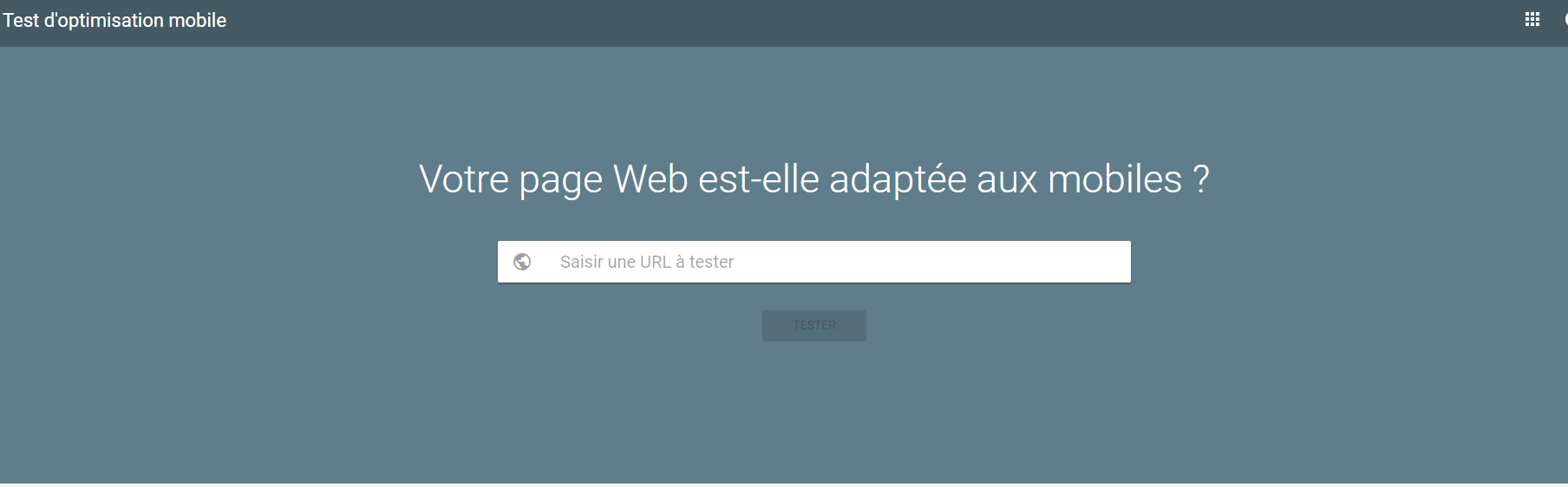 Agence web Protai-in - test google