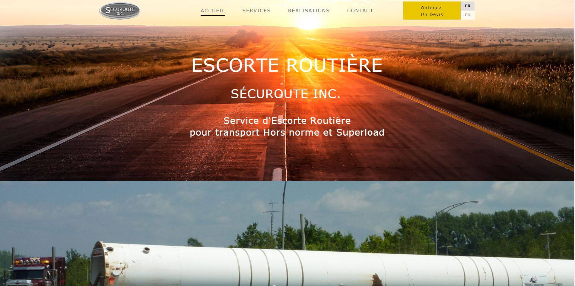 Protai-in : Agence web au cameroun - Securoute - escorte routier