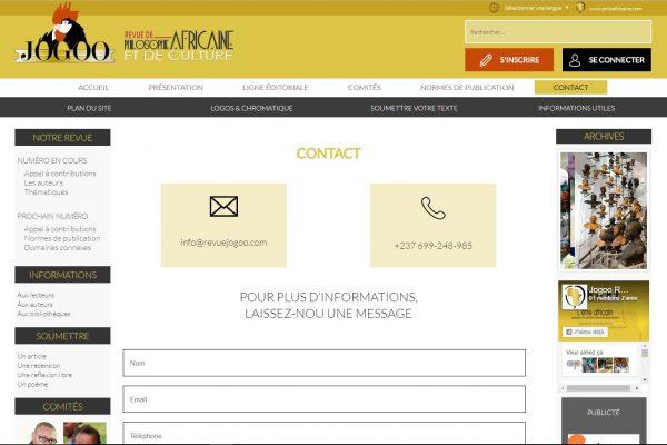 contact- jogoo -protaiin agence web cameroun -douala-montreal