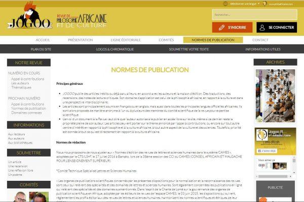page publication- jogoo -protaiin agence web cameroun -douala-montreal