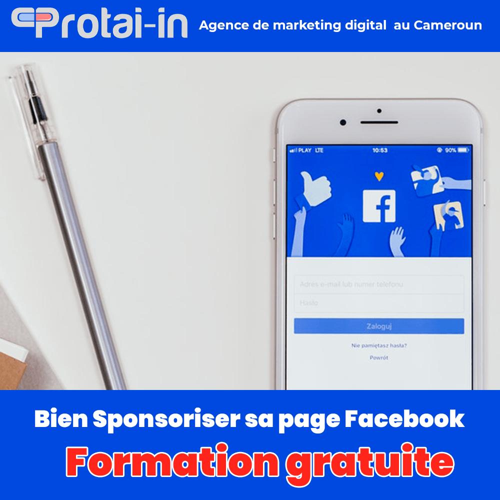 Formations facebook ads sponsorisé